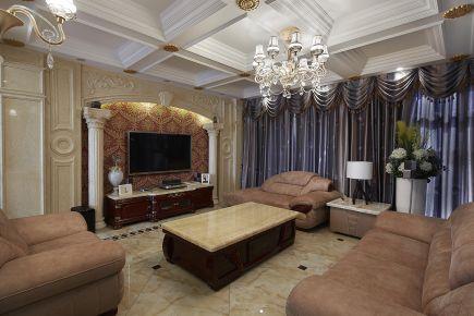 宁波金都雅苑中式风格三居室装修效果图