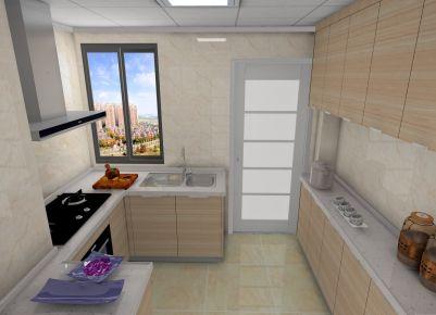 泉州海韵花都简约三居室设计案例