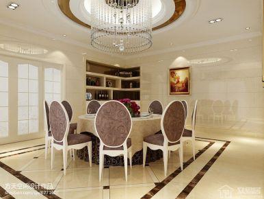 海韵花都简约三居室设计案例