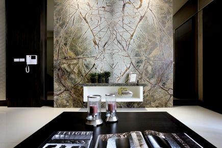常州华润国际后现代风格四居室装修案例