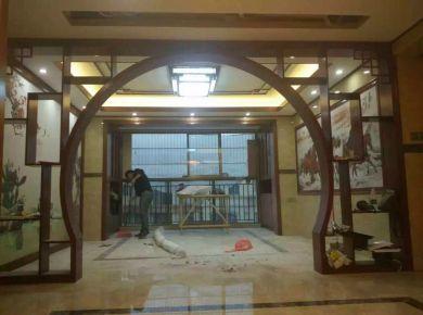 佛山风度花园中式风格三居室装修案例