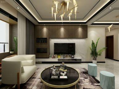 新中式三居室装修案例