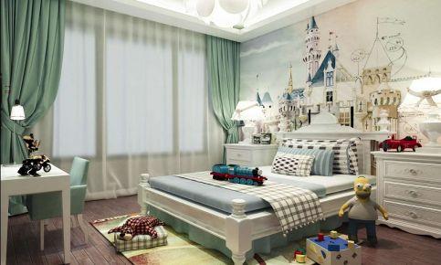 现代风格三房装修设计效果图 廊坊盛德福苑