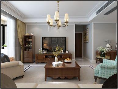 简约风格两房装修设计效果图 廊坊京汉旭成