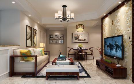 中式风格两房家庭装修设计 宁波澄波华庭