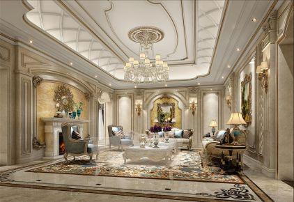 帕提欧香苑别墅项目装修法式风格设计