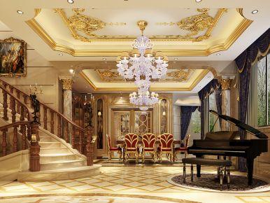 香水湾别墅项目装修欧式古典风格设计!