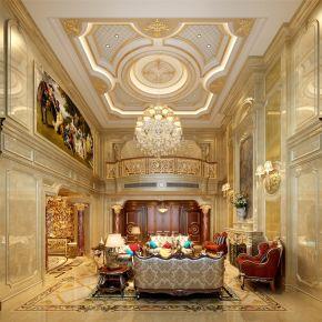 1000平别墅项目装修欧式古典风格设计