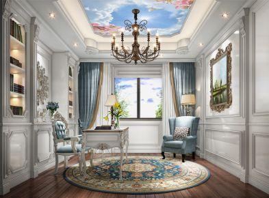 金大元别墅项目装修法式风格设计