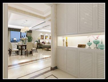 大连保利花园现代风格四居室装修案例