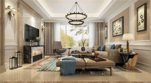 远中风华园别墅项目装修美式风格设计