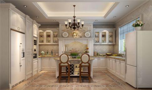 龙湖滟澜山别墅项目装修美式风格设计
