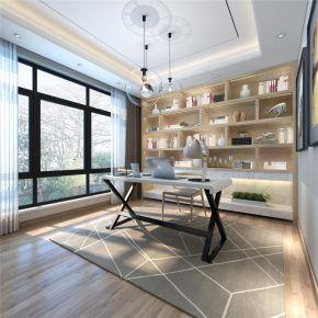 昆山鱼尾狮别墅项目装修现代风格设计!