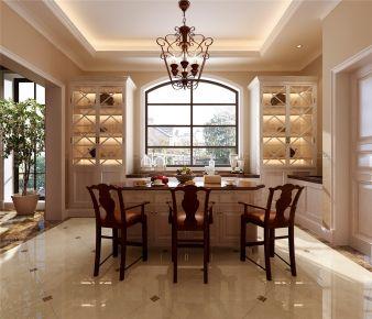 上海香樟园别墅项目装修美式风格设计