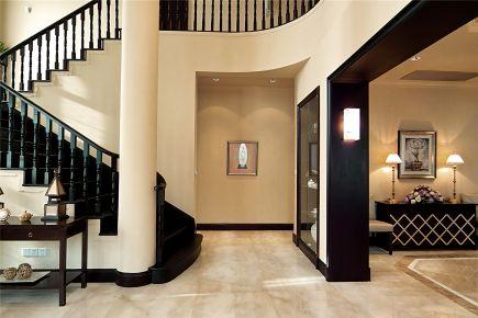 中海翡翠别墅样板房项目装修美式风格设计