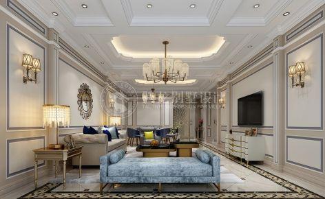 帕提欧香苑别墅项目装修简欧风格设计