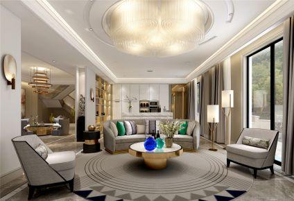 安亭高尔夫别墅项目装修后现代风格设计