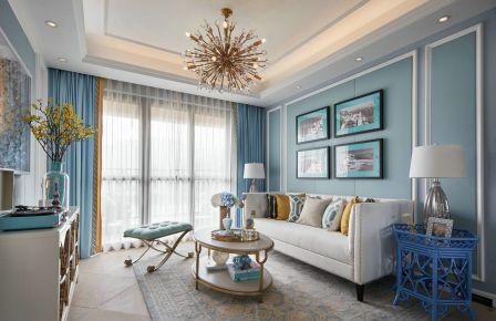 南京地中海风格三房装修效果图 地中海风格家庭装修案例