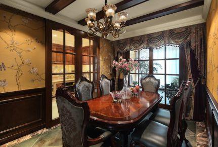 欧式风格别墅装修效果图 欧式风格家庭装修设计