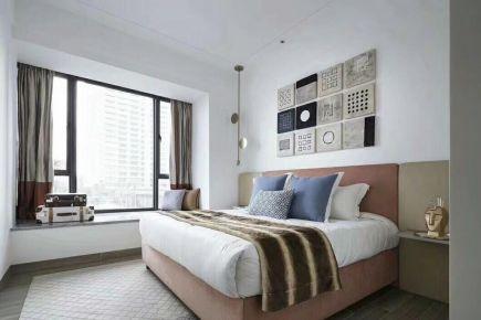 易结装饰--双安新城现代风格三房装修效果图