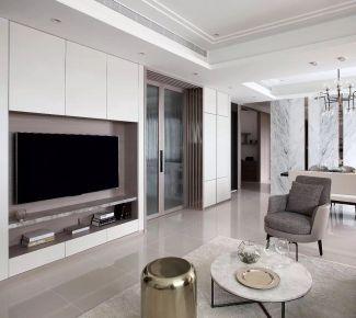 现代简约四房装修,极简风格家庭装修设计