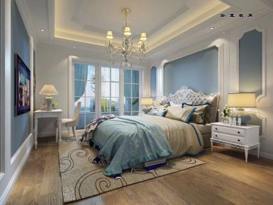 易结装饰--欧式风格三房装修效果图欣赏