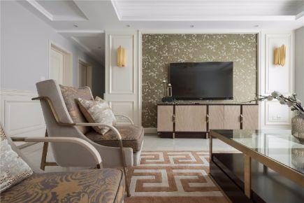 江南春城现代风格家庭装修设计效果图欣赏