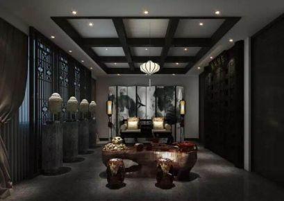 东方御府 中式风格娱乐会所装修