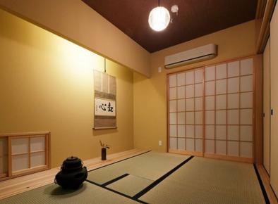 日式风格两房装修效果图   日式风格两居室装修