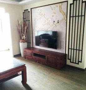 中式风格两房装修设计 中式风格室内装修效果图欣赏