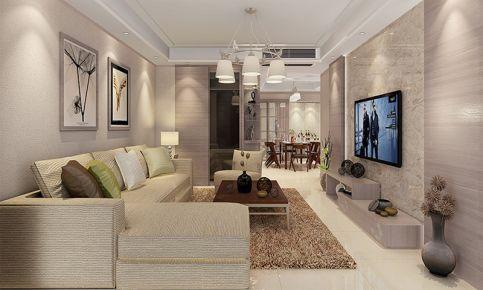 棕榈彩虹现代三居室装修案例