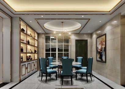 盛世嘉园现代四居室装修效果图