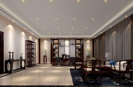 朗达酒店中式风格办公室装修效果图