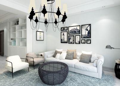 玖珑府现代风格四居室装修案例