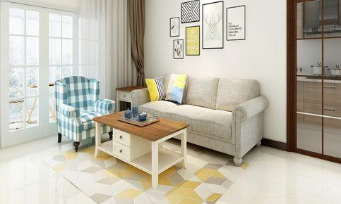 建大领秀现代风格四居室装修案例