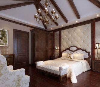 雅群中式风格三居室装修效果图