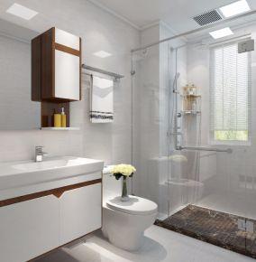 保利天悅歐式風格兩居室裝修案例