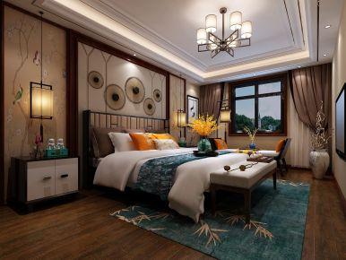 苏州九杨香郡中式风格设计效果图