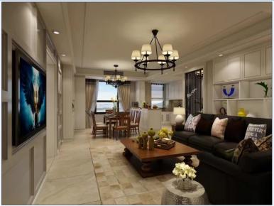 宁波印象外滩现代简约四居室装修案例