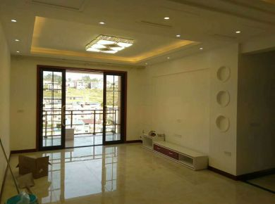 龙光城现代风格三居室装修案例