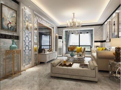 简约风格三居室装修设计 简约风格家庭装修效果图