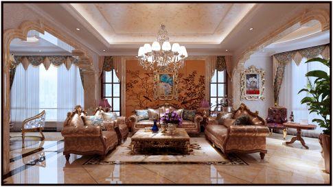 欧式别墅装修设计 唯美风格的欧式设计典范
