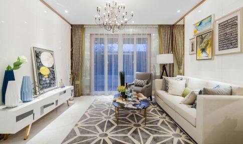 现代风格装修三居室设计案例