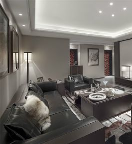 现代风格四居室装修案例