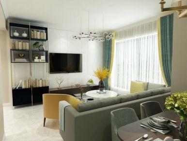 现代简约风格两居室装修案例