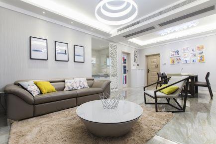 龙湖香提欧式三居室装修效果图