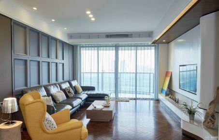 佛山绿地中心现代风格三居室装修案例