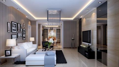 福州香开新城简约舒适三居室装修案例