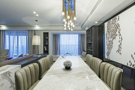 林隐天下现代风格三居室装修效果图