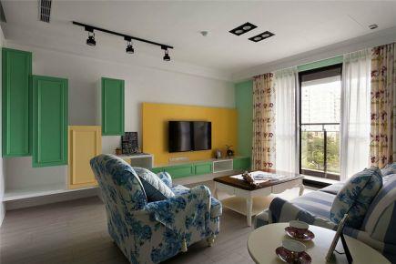 扬州中海丹提简约风格三居室装修效果图